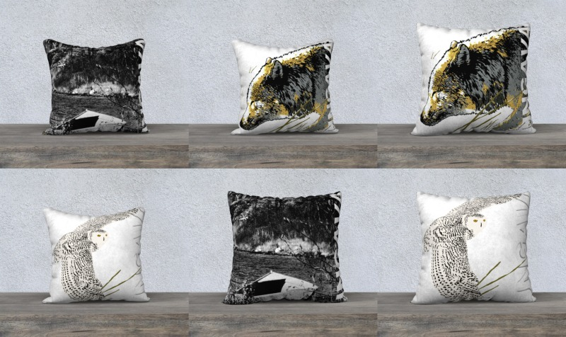 Pillow cases / housse de coussins preview