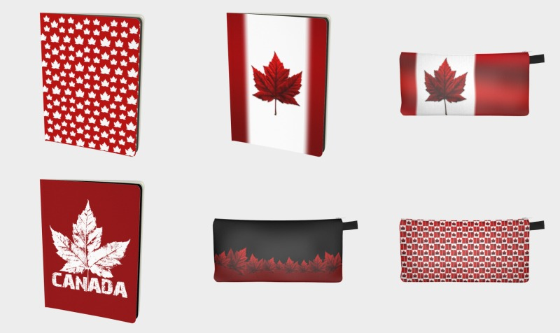 Aperçu de Canada Notebooks & Pencil Cases