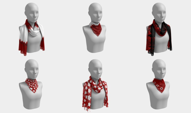 Canada Scarves preview