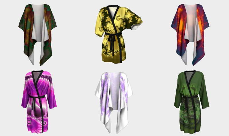 Fractal Art Robes preview