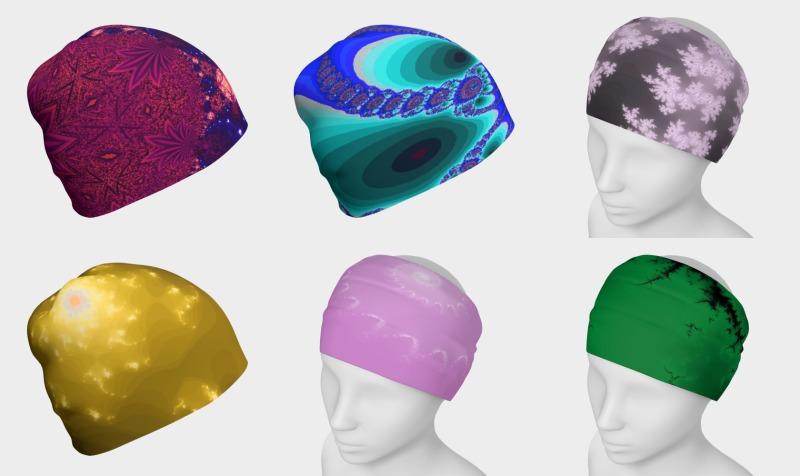 Fractal Art Headwear preview