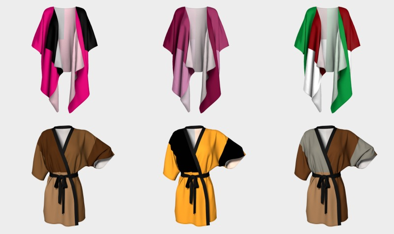Delightfully Solid Robes preview