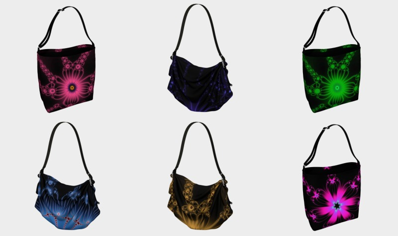 Fractal Flowers Bags preview