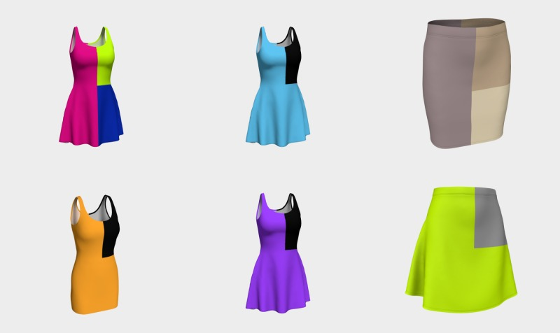 Delightfully Solid Dresses and Skirts preview