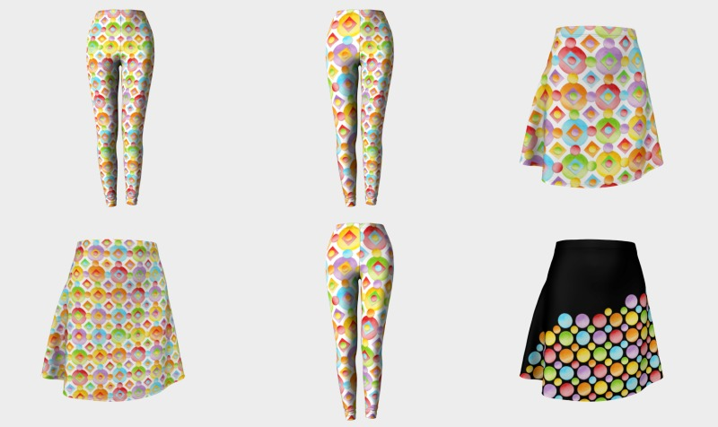 Rainbow Polka Dots preview