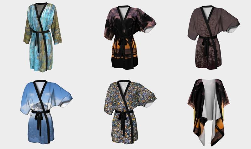 Aperçu de Peignoir, Kimono Robes and Wraps