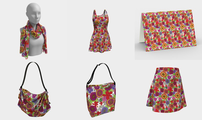 Bright & Cheery Floral Pattern preview