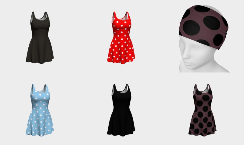 1950s Patterns ( Dresses, Capris, Scarves, and Headbands preview