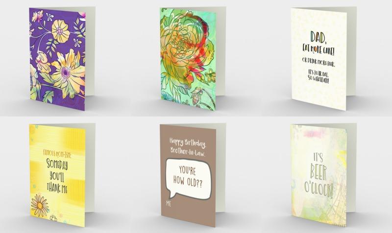 Aperçu de Birthday Greeting Cards
