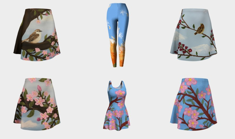 Floral preview