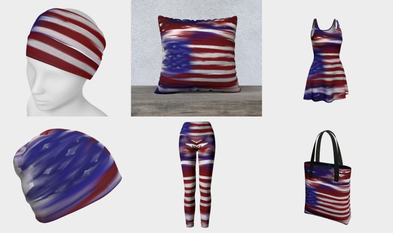 Hazy USA Flag Collection preview