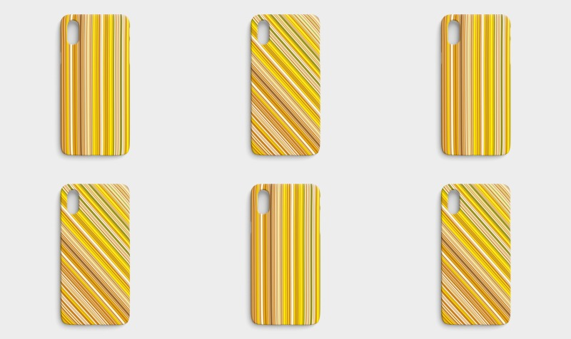 Many multi colored stripes in yellow preview