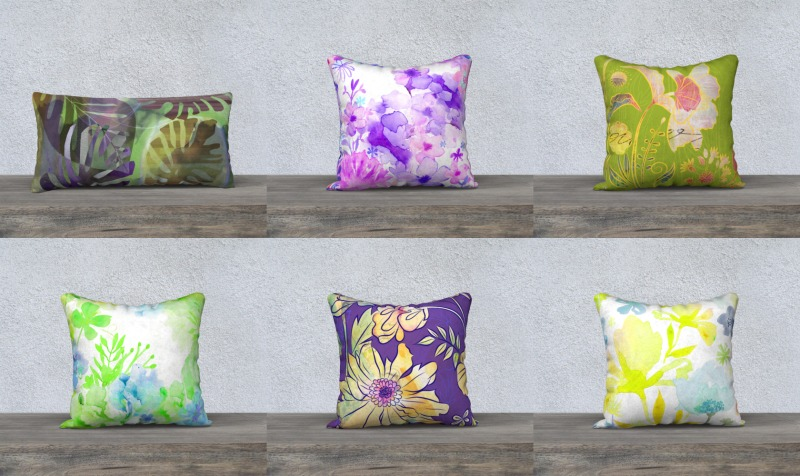 Pillows by Deloresart preview
