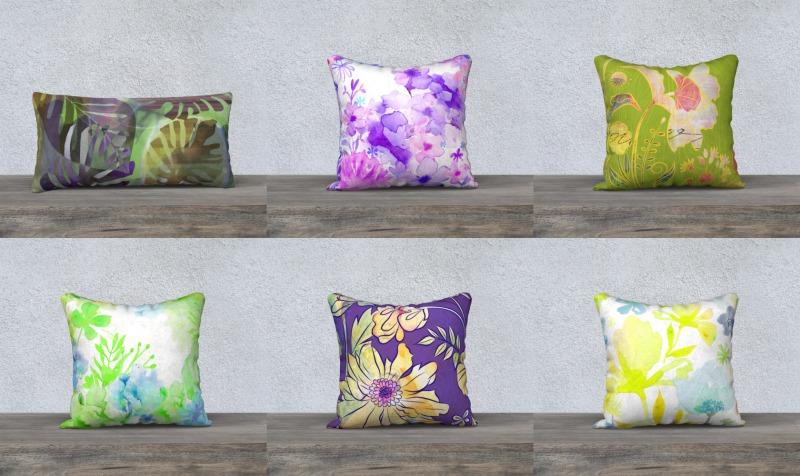 Aperçu de Pillows by Deloresart