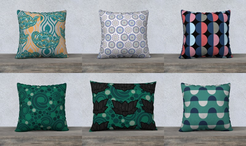 Patterned Pillows! preview