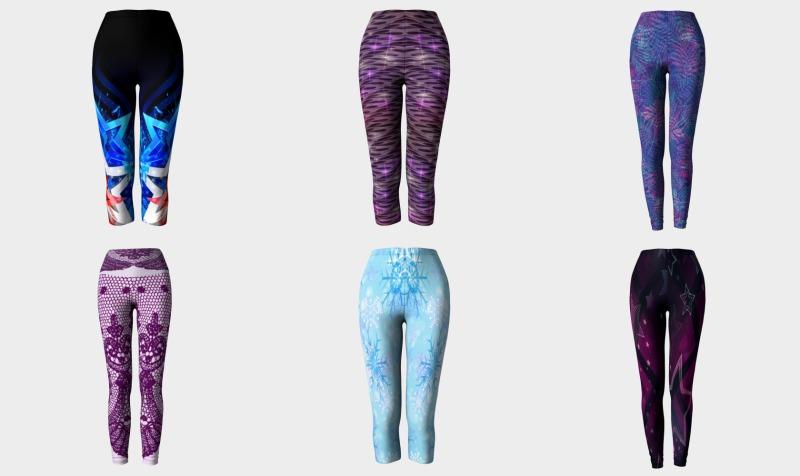 Yoga Capris and Leggings preview