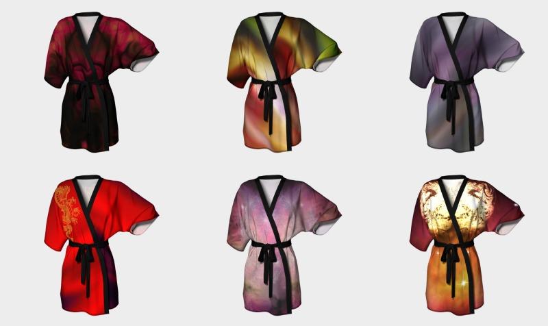 Kimono robe preview