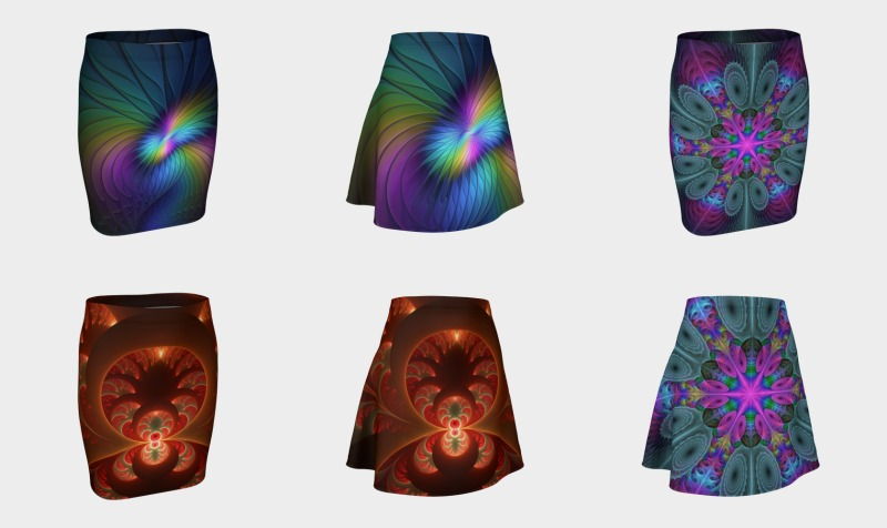Colorful Skirts With Compatible Tops preview