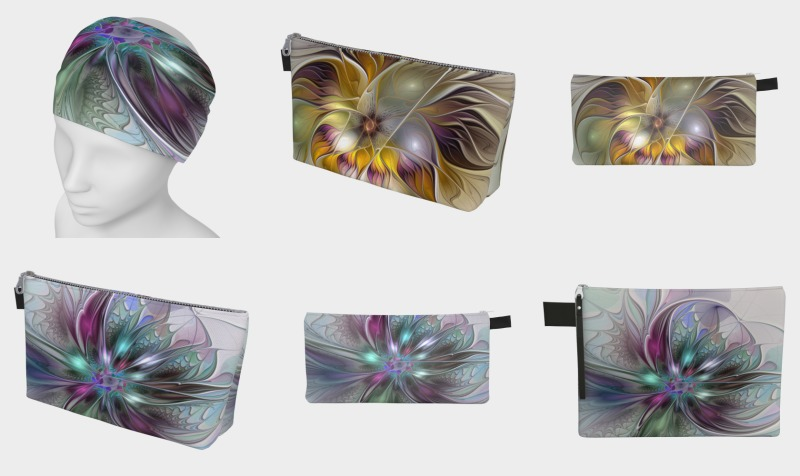 Floral Fantasy Colorful Accessories preview