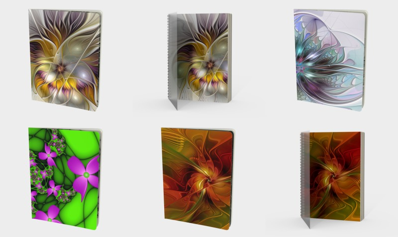 Floral Fantasy Colorful Books preview