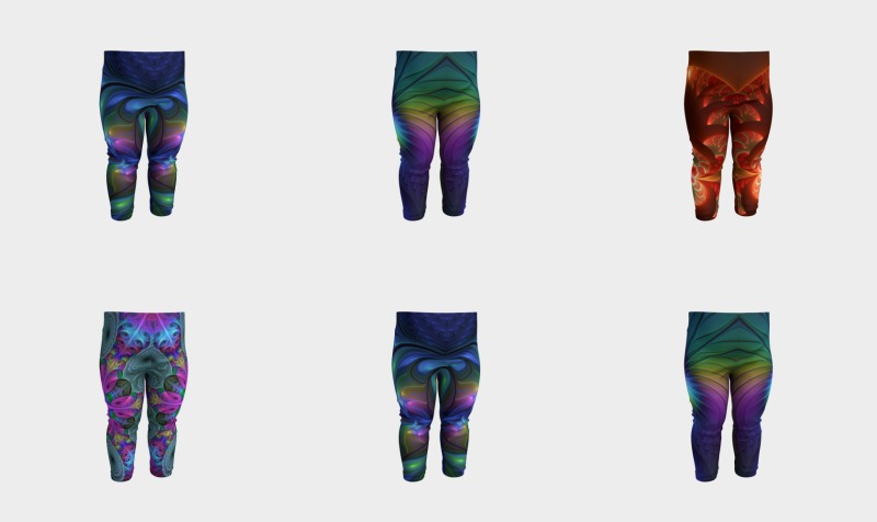 Colorful Baby Leggings preview