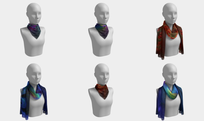 Colorful Scarves preview