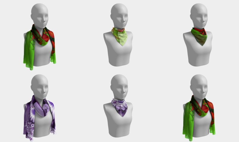 Emotions on Scarves preview