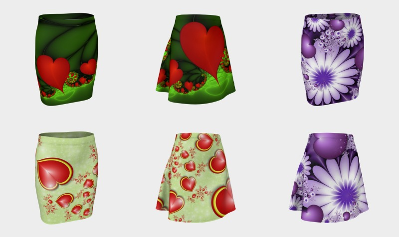 Emotions on Skirts with Compatible Tops preview