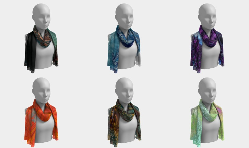 Long Scarfs preview