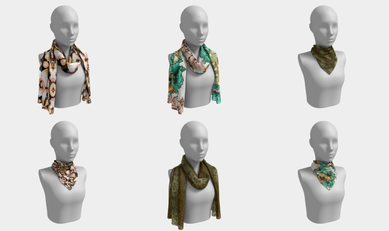 Womens Scarf's preview