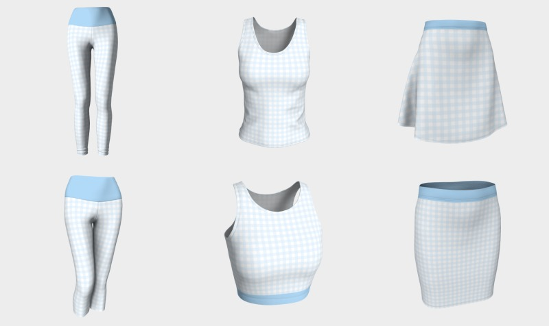 Gingham preview