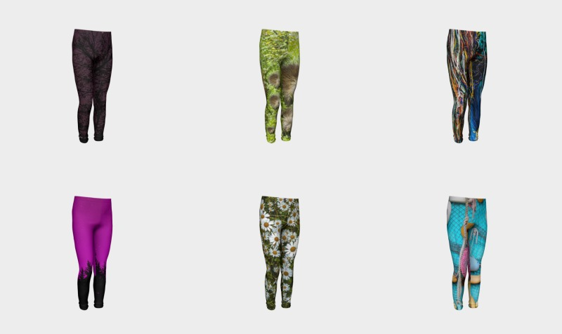 Youth Sized leggings preview
