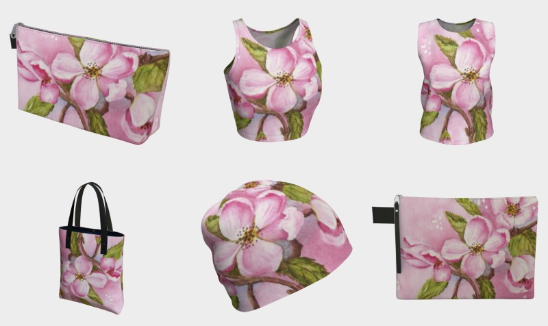 APPLE BLOSSOMS - PINK preview