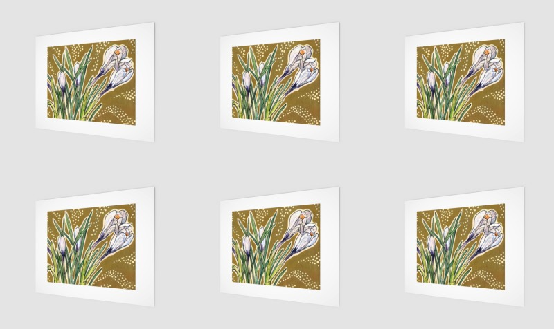 """Crocuses"" preview"