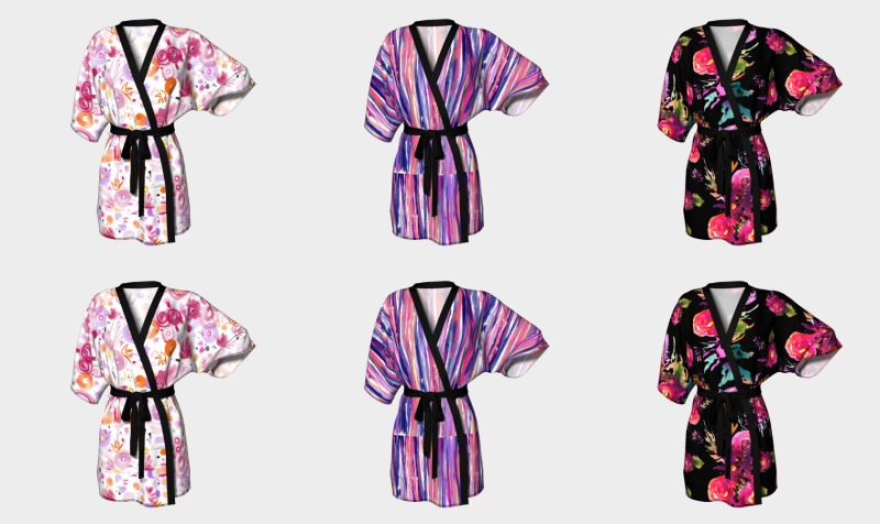 Kimonos peignoirs preview