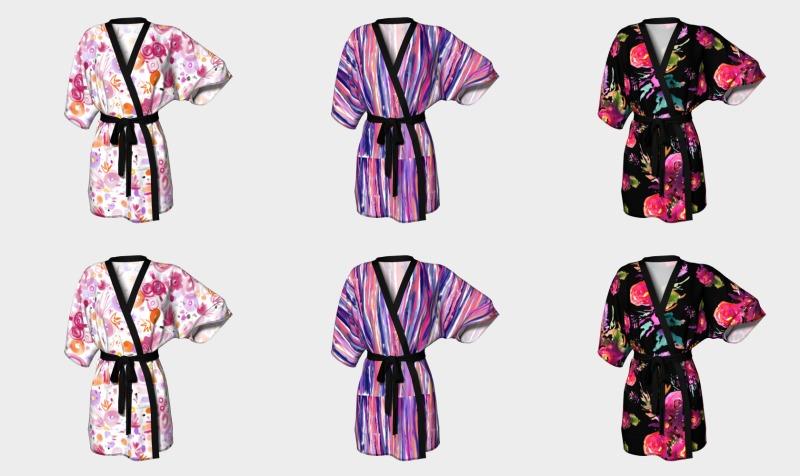 Aperçu de Kimonos peignoirs