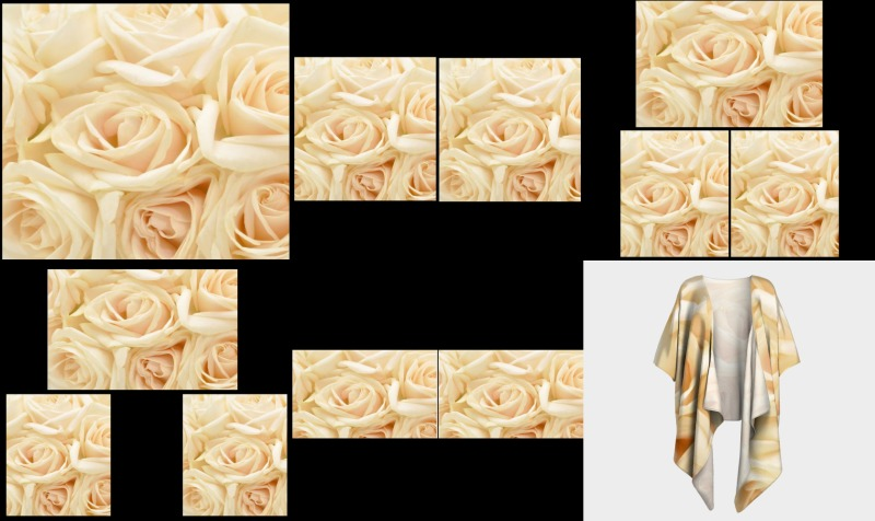 Cream Roses preview