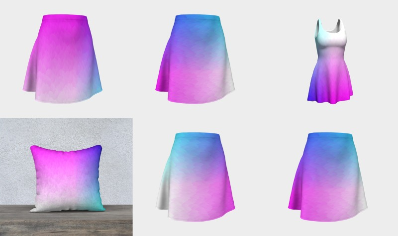 Rainbow Ombre preview