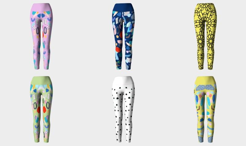 Adult Yoga Leggings preview