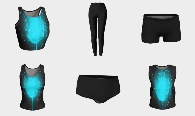 Aperçu de Create-An-Outfit (Blue Dandelion)