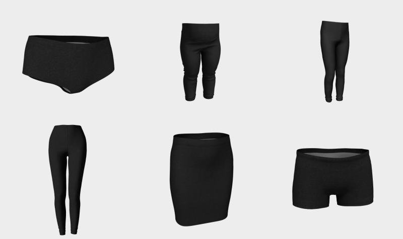 Aperçu de Create-An-Outfit (Charcoal)