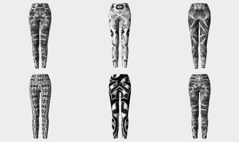 All Black & White Leggings, Capris, & Yoga Bottoms preview
