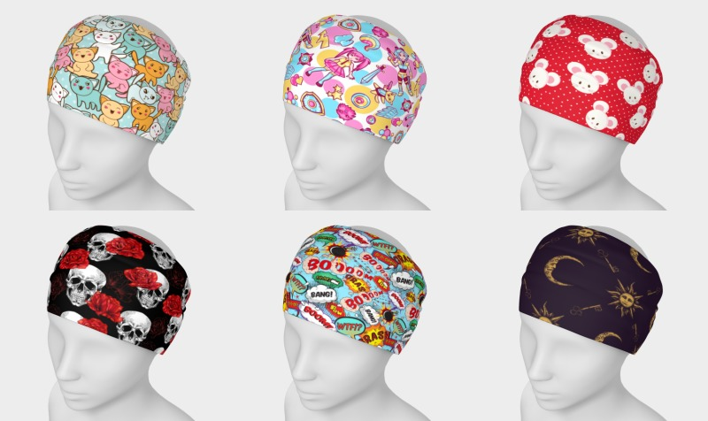 Headbands & Scarves preview