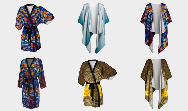 Kimonos and Peignoirs preview