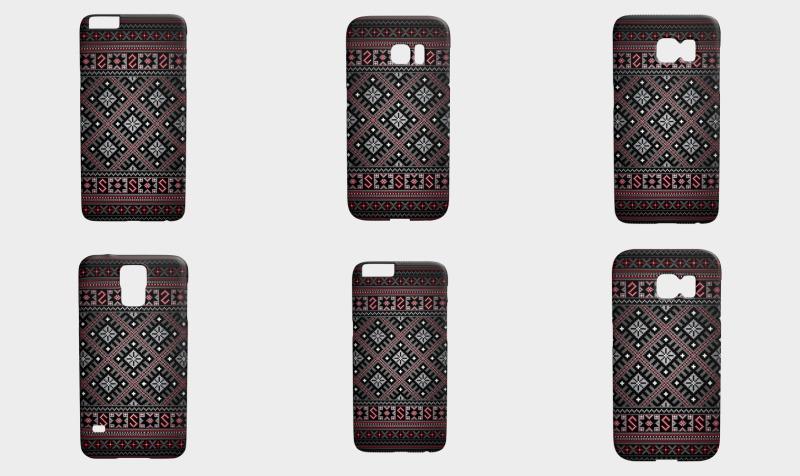 """Aperçu de """"Westland   TinyRed"""" phone covers"""