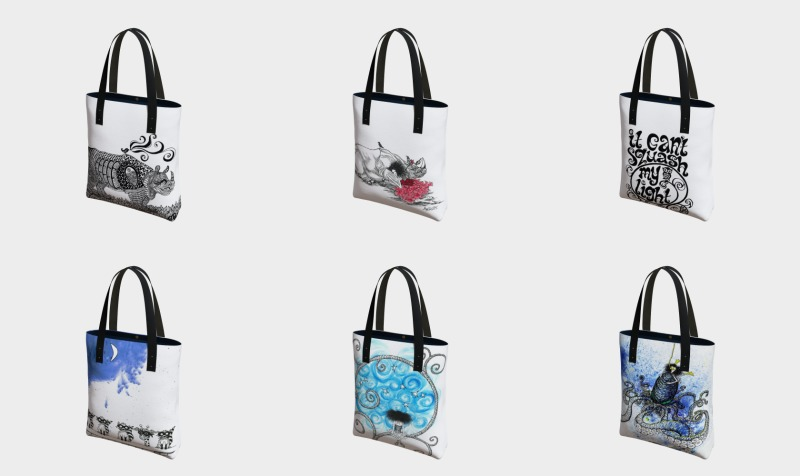 tote art preview