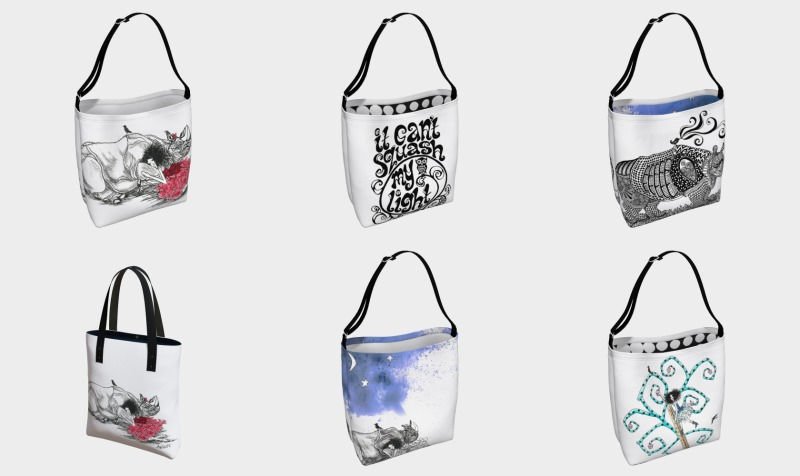luxury tote art preview