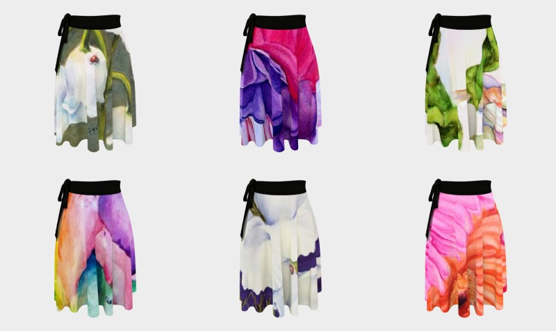 WRAP SKIRTS preview