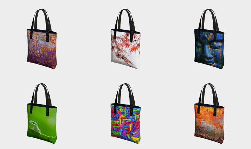 Sacs  |  Tote Bags  -  Louise Tanguay preview