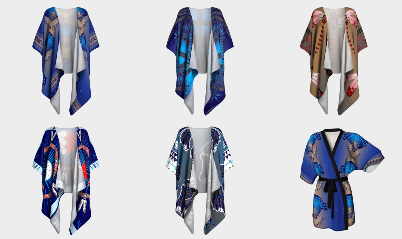 Kimono's (Robe, Draped, Peignoir) preview
